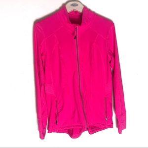 Tangerine track jacket size medium